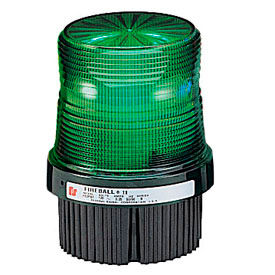 Federal Signal FB2PST-120G Strobe, 120VAC, pipe/surface mount, Green