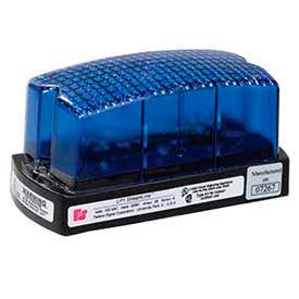 Federal Signal LP1-120B Strobe, 120VAC, Blue
