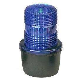 Federal Signal LP3E-120B Strobe light, Edison base, 120VAC, Blue