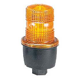 Federal Signal LP3P-120A Strobe, pipe mount, 120VAC, Amber