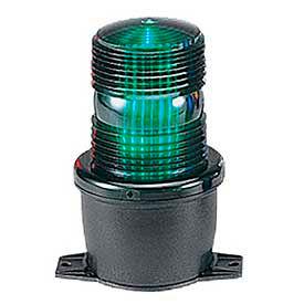 Federal Signal LP3P-120G Strobe, pipe mount, 120VAC, Green