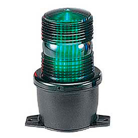 Federal Signal LP3T-012-048G Strobe, T-mount, 12-48VDC, Green
