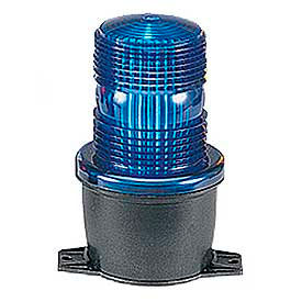 Federal Signal LP3T-120B Strobe, T-mount, 120VAC, Blue