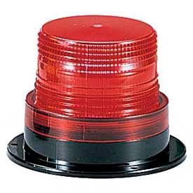 Federal Signal LP6-012-048R Light, 12-48VDC, Red