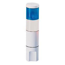 Federal Signal MSL2-024BC Microstat, 2-High, 24VDC/AC, Blue/Clear