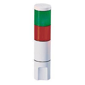 Federal Signal MSL2-024GR Microstat, 2-High, 24VDC/AC, Green/Red