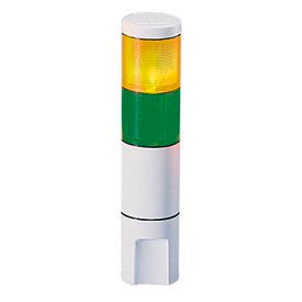 Federal Signal MSL2-120AG Microstat, 2-High, 120VAC, Amber/Green