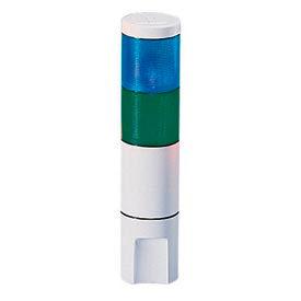 Federal Signal MSL2-120BG Microstat, 2-High, 120VAC, Blue/Green