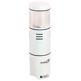 Federal Signal USIS-024TC UniStat; tri-color, sounder, single-high, 24VDC