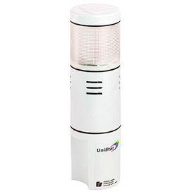 Federal Signal USIS-120TC UniStat; tri-color, sounder, single-high, 120VAC