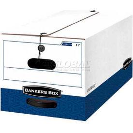 """Fellowes 00011 Liberty®, Letter Box, 24-1/8""""L x 12-1/4""""W x 10-3/4""""H, White/Blue - Pkg Qty 12"""