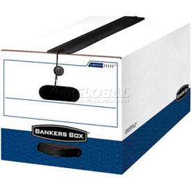 """Fellowes 12112 Liberty® Plus, Legal Box, 24-1/8""""L x 15-1/4""""W x 10-3/4""""H, White/Blue - Pkg Qty 12"""