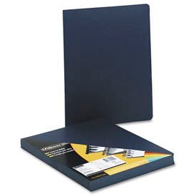 "Fellowes® Executive Presentation Covers, 8-3/4"" x 11-1/4"", Navy, 50/Pk - Pkg Qty 8"