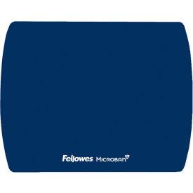 Fellowes® 5908001 Microban® Ultra Thin Mouse Pad, Blue - Pkg Qty 6