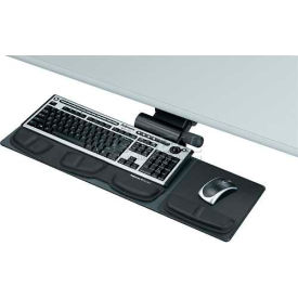 Fellowes® 8018001 Professional Series Compact Keyboard Tray, Black