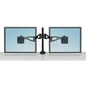 Fellowes® Professional Series Depth Adjustable Dual Monitor Arm