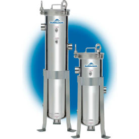 """Filtration Group Single-Bag Liquid Filter Vessel, 8-5/8""""Dia, 316 Stainless Steel"""