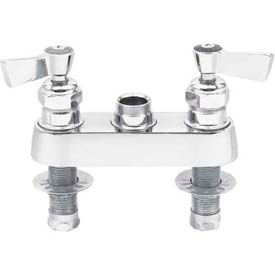"Fisher 3500, 4"" Deck Control Valve, Polished Chrome by"