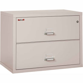 Fireking Fireproof 2 Drawer Lateral File Cabinet Letter Legal Size 37 1/2