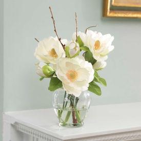 OfficeScapesDirect Magnolia Silk Flower Arrangement - Cream