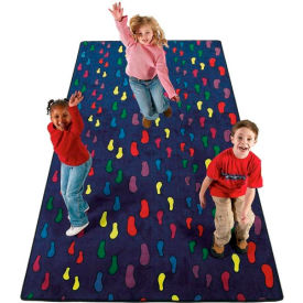 Children's Rugs FOOTPRINTS 12X9