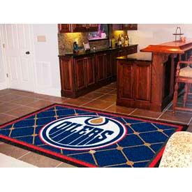 Edmonton Oilers 5 x 8 Rug