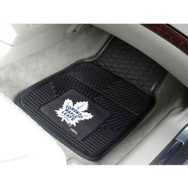 """NHL - Toronto Maple Leafs - Heavy Duty Vinyl 2 Piece Car Mat Set 17""""W x 27""""L - 10444"""