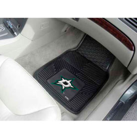 "NHL - Dallas Stars - Heavy Duty Vinyl 2 Piece Car Mat Set 17""W x 27""L - 10640"