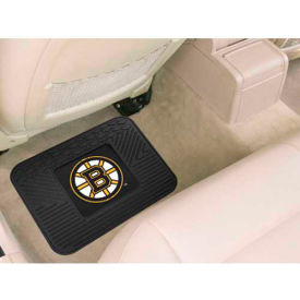 "NHL - Boston Bruins - Heavy Duty Vinyl Utility Mat 14"" x 17"" - 10760"