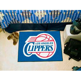 """NBA - Los Angeles Clippers Starter Rug 19""""  x  30"""""""