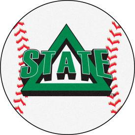 "Fan Mats Delta State University Baseball Mat 26"" Dia. - 14130"