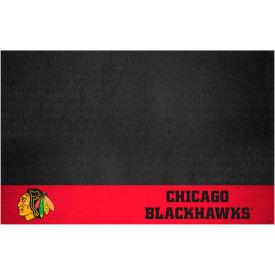 Fan Mats NHL - Chicago Blackhawks Grill Mat - 14230