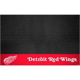 Fan Mats NHL - Detroit Red Wings Grill Mat - 14234