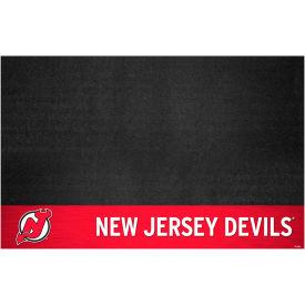 Fan Mats NHL - New Jersey Devils Grill Mat - 14241