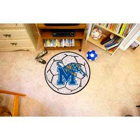 "Memphis Soccer Ball Rug 29"" Dia."