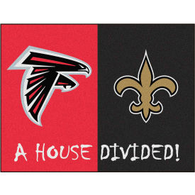 15ecc980 Mats & Runners | Logo | Fan Mats NFL - Atlanta Falcons/New Orleans ...