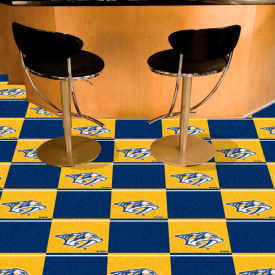 Fan Mats NHL - Nashville Predators Team Carpet Tiles - 15575