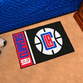 """Fan Mats NBA - Los Angeles Clippers Starter Mat, 19"""" x 30"""" - 17914"""