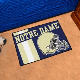 """Fan Mats Notre Dame Starter Mat, 19"""" x 30"""" - 18767"""