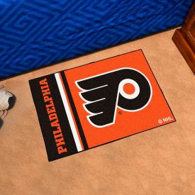 "Fan Mats NHL - Philadelphia Flyers Starter Mat, 19"" x 30"" - 19273"