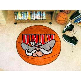 "UNLV Nevada Las Vegas Basketball Rug 29"" Dia."