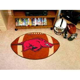"Arkansas Football Rug 22"" x 35"""