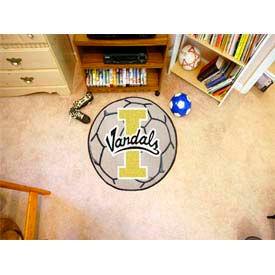 """Idaho Soccer Ball Rug 29"""" Dia."""