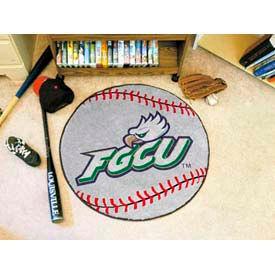 "Florida Gulf Coast Baseball Rug 29"" Dia."