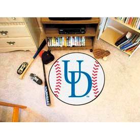 "Delaware Baseball Rug 29"" Dia."