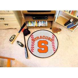 "Syracuse Baseball Rug 29"" Dia."
