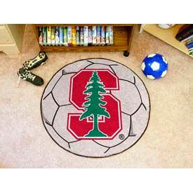 """Stanford Soccer Ball Rug 29"""" Dia."""