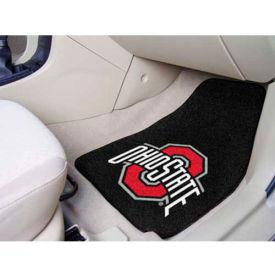"Ohio State University - 2 Piece Carpeted Car Mat Set 17""W x 27""L - 5293"