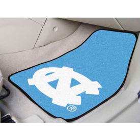 "University of North Carolina - Chapel Hill - 2 Piece Carpeted Car Mat Set 17""W x 27""L - 5429"