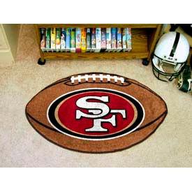 "San Francisco 49ers Football Rug 22"" x 35"""